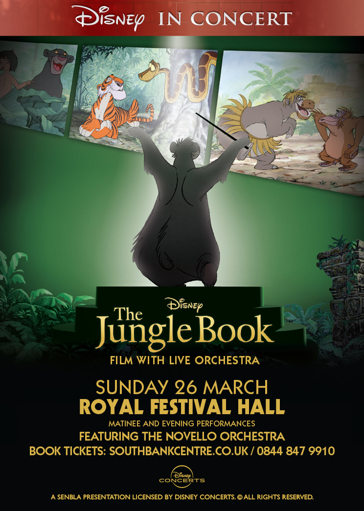Disney's The Jungle Book Live in Concert!