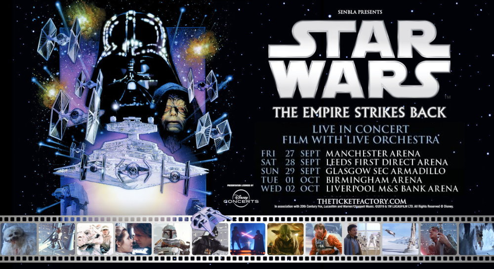 Star Wars: The Empire Strikes Back in Concert, UK Tour 2019
