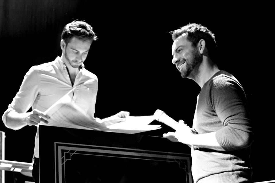 DAVID MAHONEY AND BEN FORSTER
